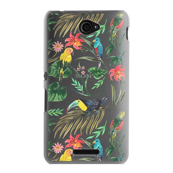 Sony E4 Cases - Tropical Birds