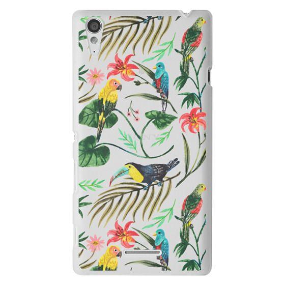 Sony T3 Cases - Tropical Birds