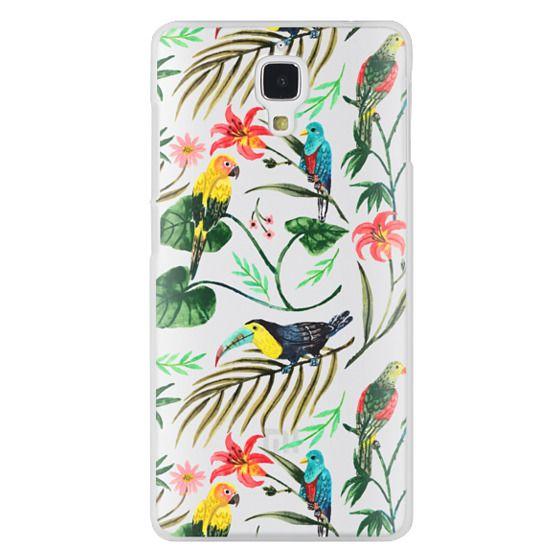 Xiaomi 4 Cases - Tropical Birds