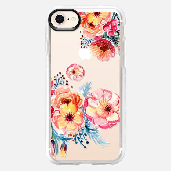 Watercolor Floral - Snap Case