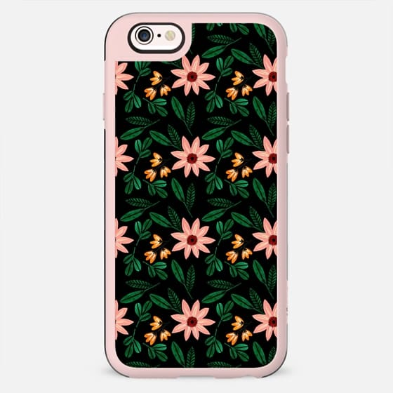Watercolor floral pattern - New Standard Case