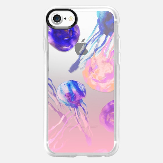 Electro Jellyfish - Wallet Case