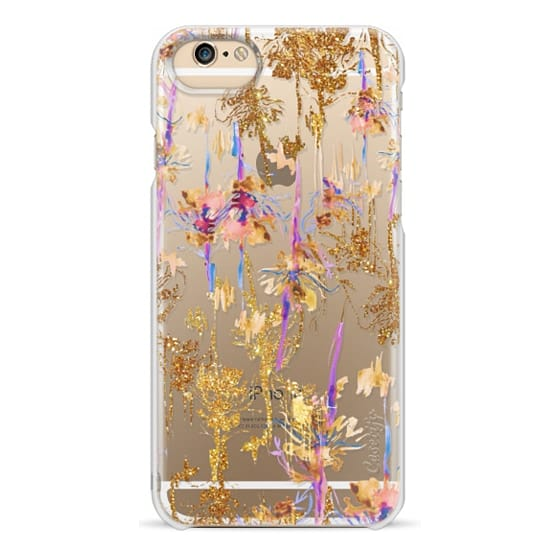 iPhone 6s Cases - Glitter flowers