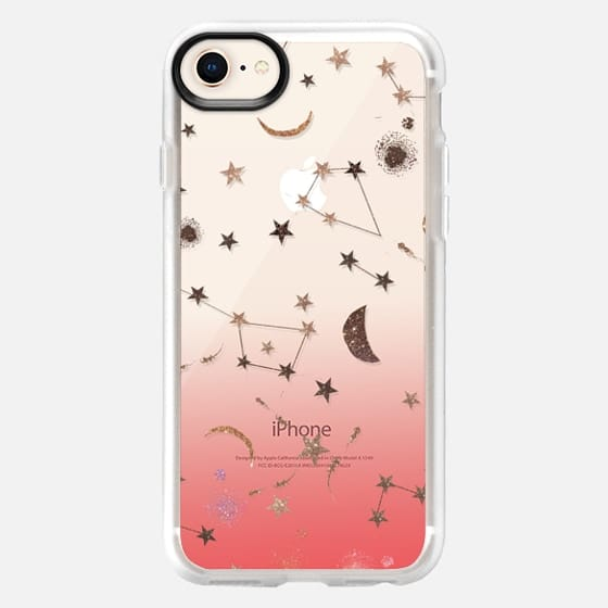 Constellations Coral - Snap Case
