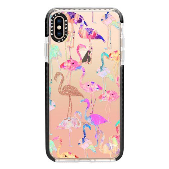 iphone xs case flamingo