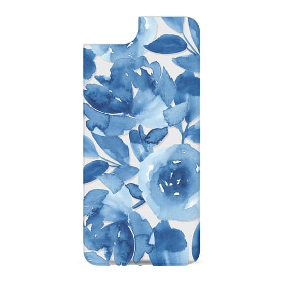 iPhone 6s Cases - Blue Watercolor Flowers