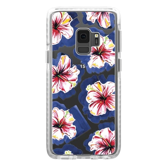 Samsung Galaxy S9 Cases - Hola! Flowers (Transparent)