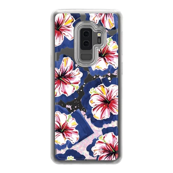 Samsung Galaxy S9 Plus Cases - Hola! Flowers (Transparent)