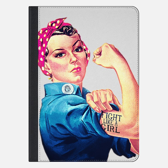Fight Like A Girl Rosie The Riveter Girly Mod Pink