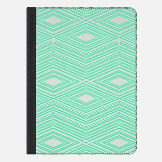 Hipster Mint Green Arrows Aztec Tribal Pattern