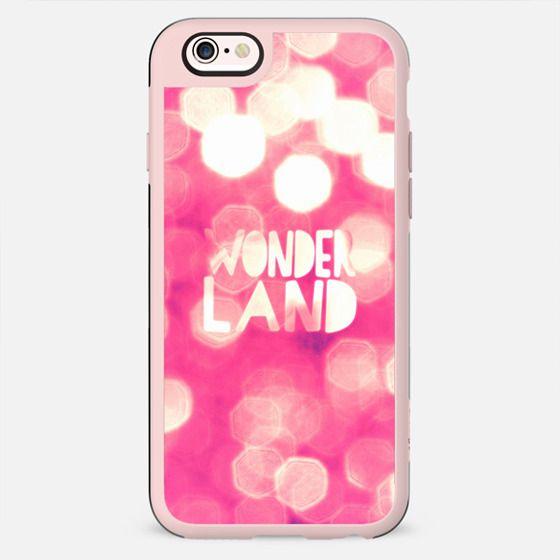 Red Glitter Bokeh Girly Hip Wonderland Typography - New Standard Case
