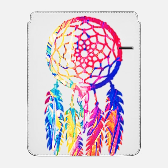 "iPad Pro 12.9"" กระเป๋า - Hipster Neon Dreamcatcher Cute Rainbow"