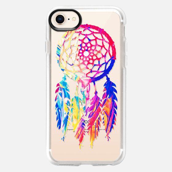 Hipster Neon Dreamcatcher Cute Rainbow - Snap Case