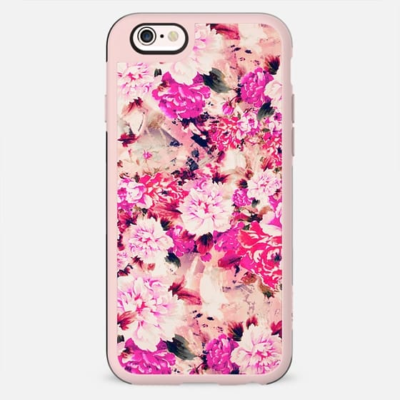 Elegant Pink Chic Floral Pattern Girly Peonies - New Standard Case