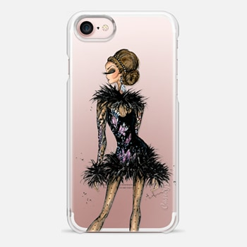 iPhone 7 Case Elie Saab Feathers by Anum Tariq