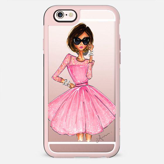 Pink Dress by Anum Tariq