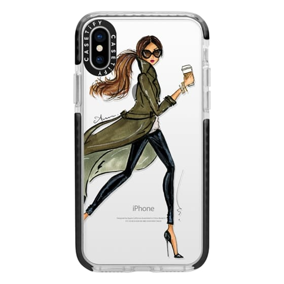 iPhone X Cases - Trench by Anum Tariq
