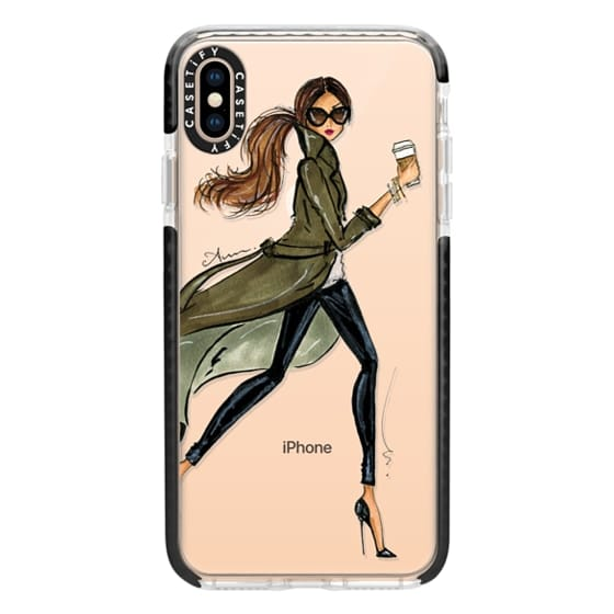 iPhone XS Max Cases - Trench by Anum Tariq