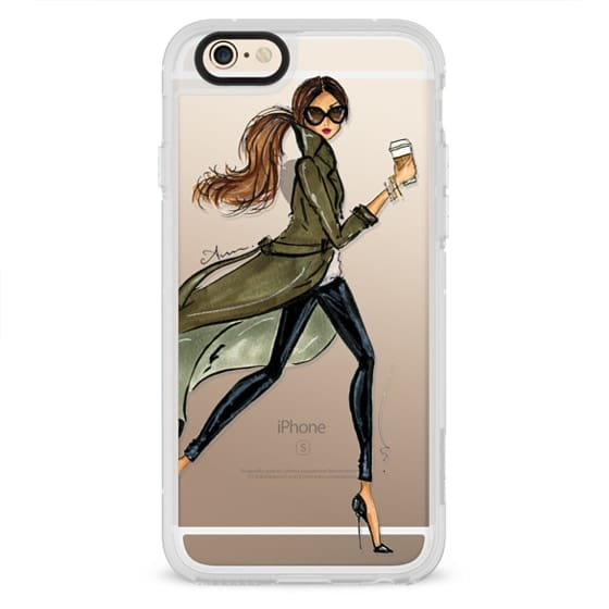 iPhone 4 Cases - Trench by Anum Tariq