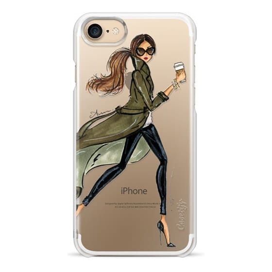 iPhone 7 Cases - Trench by Anum Tariq