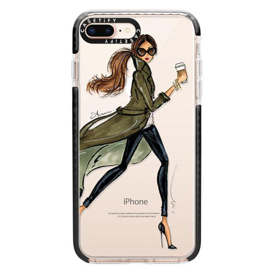 iPhone 8 Plus Cases - Trench by Anum Tariq