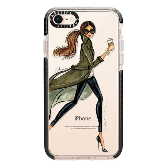 iPhone 8 Cases - Trench by Anum Tariq