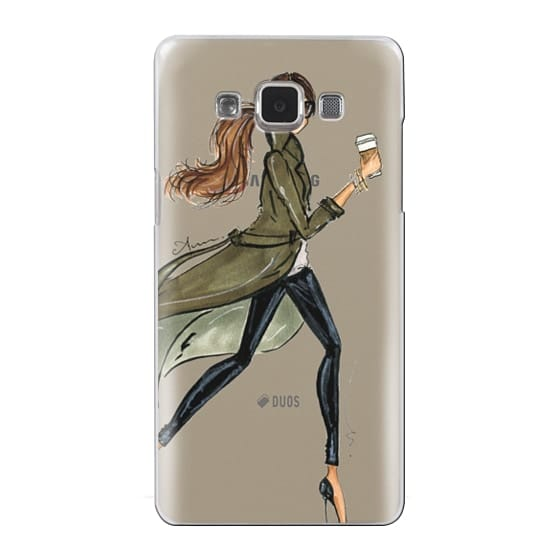 Samsung Galaxy A5 Cases - Trench by Anum Tariq