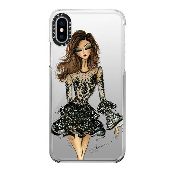 iPhone X Cases - Zuhair Murad by Anum Tariq