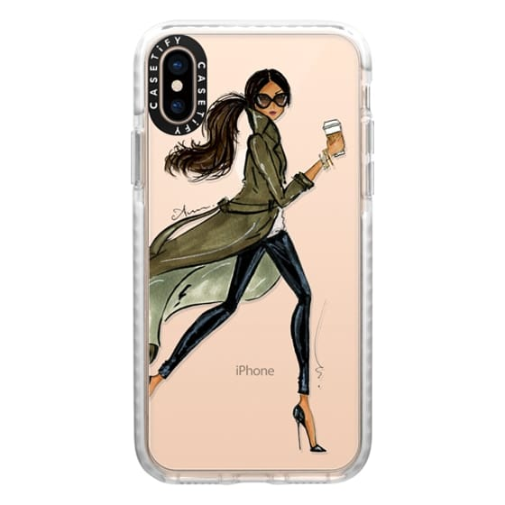 iPhone XS Cases - Dark Trench by Anum Tariq