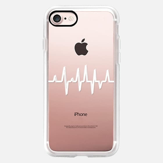 Heart Beat White -