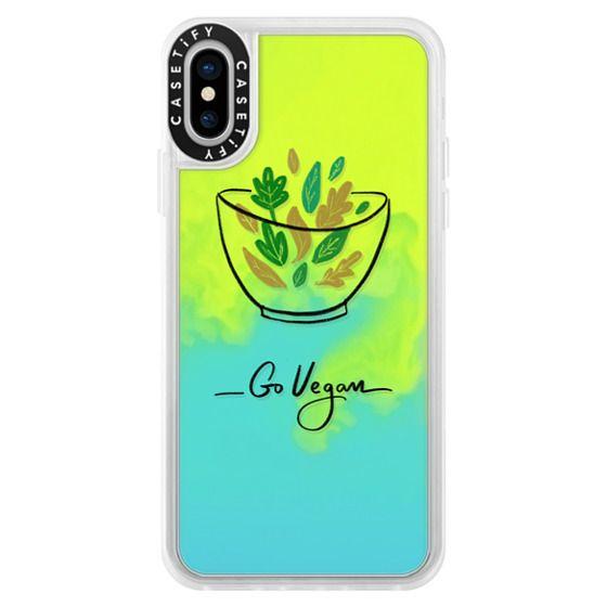 iPhone X Cases - Go Vegan