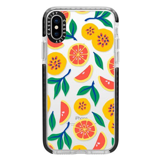 iPhone X Cases - Juicy & Yellow