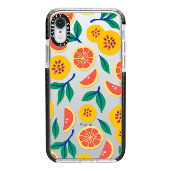 iPhone XR Cases - Juicy & Yellow