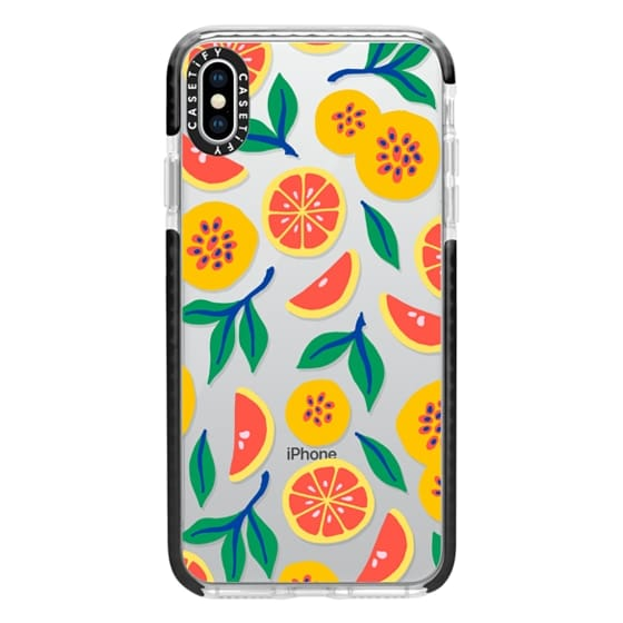 iPhone XS Max Cases - Juicy & Yellow