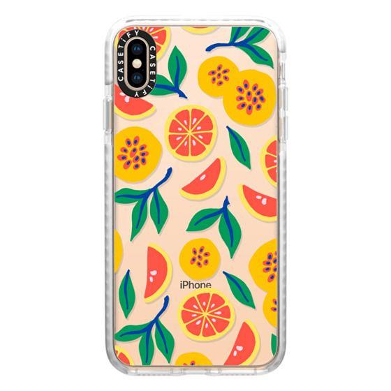 iPhone XS Max Cases - Juicy & Yellow