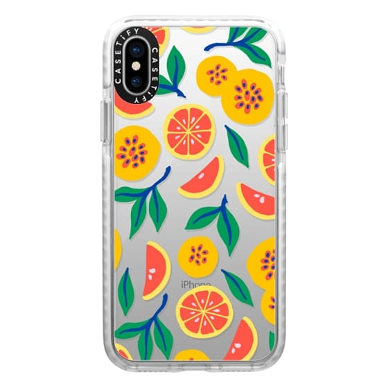 iPhone XS Cases - Juicy & Yellow