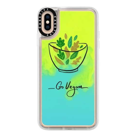 iPhone XS Max Cases - Go Vegan