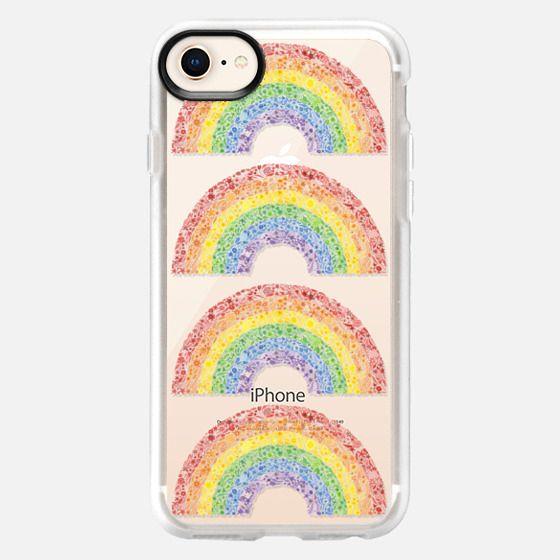 Rainbows (transparent) - Snap Case