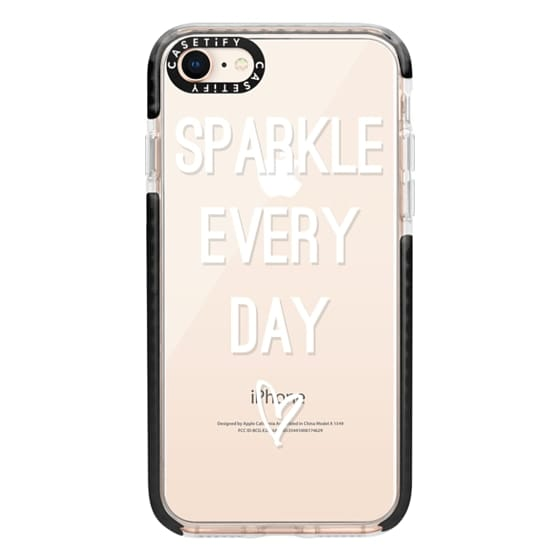 iPhone 8 Cases - Sparkle Every Day