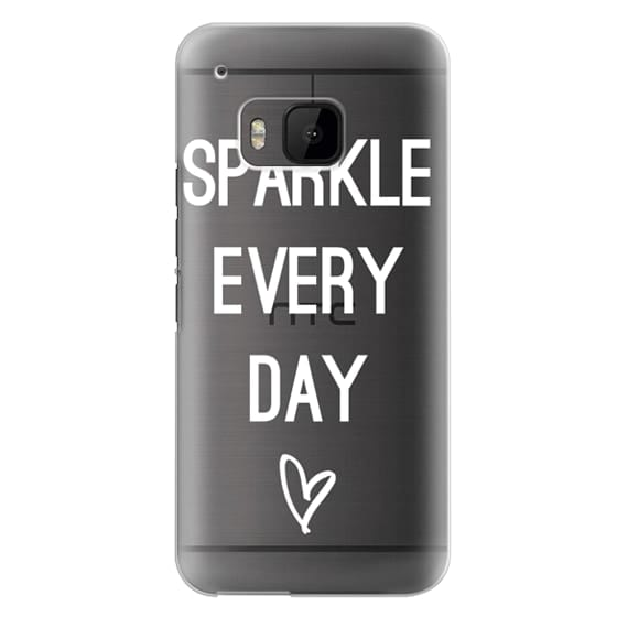 Htc One M9 Cases - Sparkle Every Day