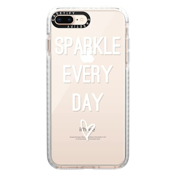 iPhone 8 Plus Cases - Sparkle Every Day