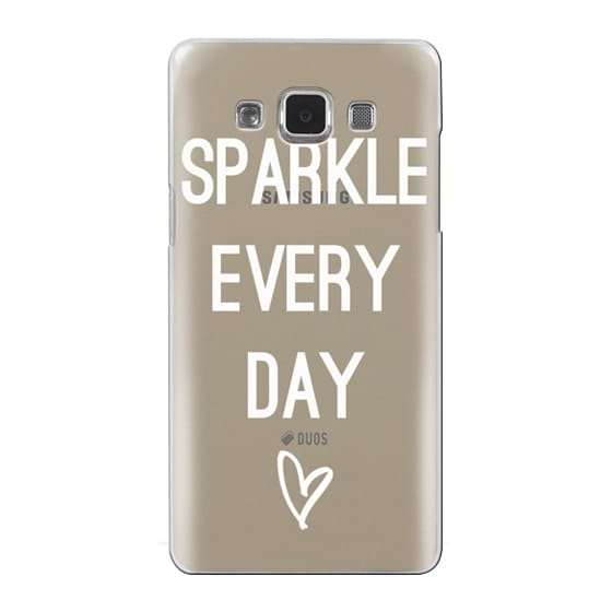Samsung Galaxy A5 Cases - Sparkle Every Day