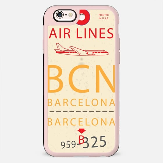 Barcelona Tag - New Standard Case