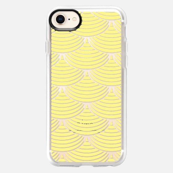 Yellow fishscale - Snap Case