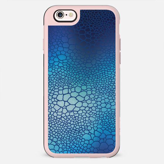 Blue snake skin - New Standard Case