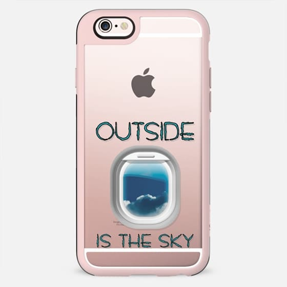 Outside is the sky - New Standard Case