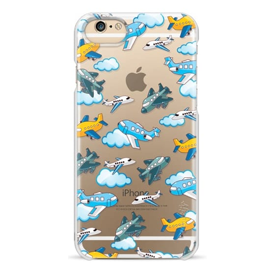 iPhone 6s Cases - Airplanes and clouds