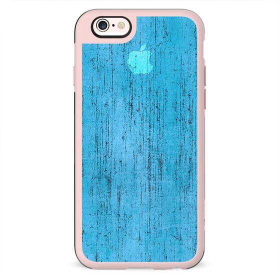 Blue apple grunge