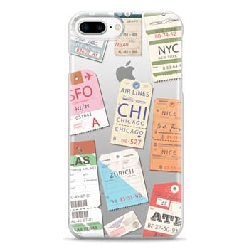 Snap iPhone 7 Plus Case - Iphone _airlinetags