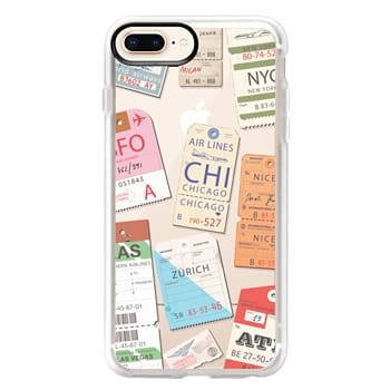 Grip iPhone 8 Plus Case - Iphone _airlinetags